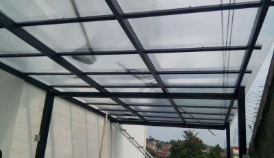 canopy atap polycarbonate